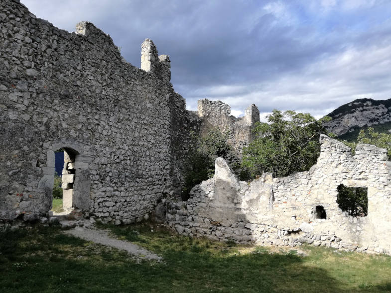 The ruin of Castel Penede